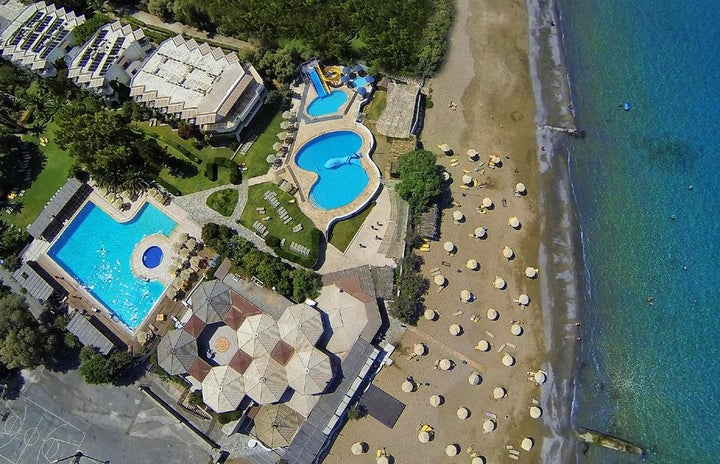 Apollonia Beach Resort and Spa in Amoudara, Crete, Greek Islands