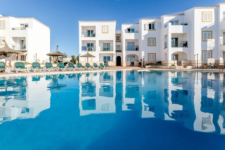 Blancala Apartments in Cala Blanca, Menorca, Balearic Islands