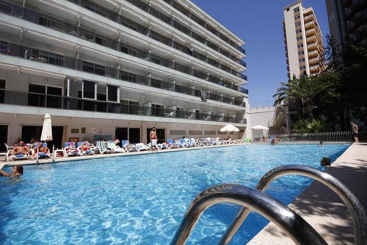 Perla Hotel in Benidorm, Costa Blanca, Spain