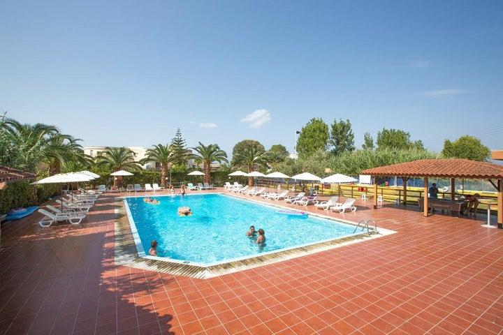Island Beach Resort in Kavos, Corfu, Greek Islands