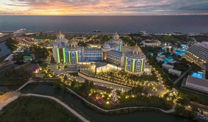Delphin Be Grand Resort in Lara Beach, Antalya, Turkey