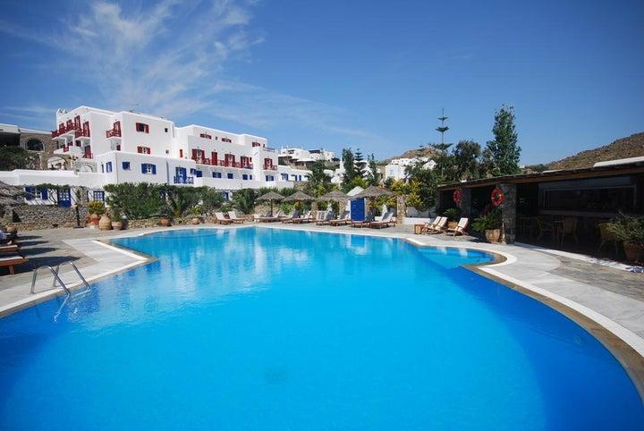 Kamari Hotel Mykonos in Platis Yialos, Mykonos, Greek Islands