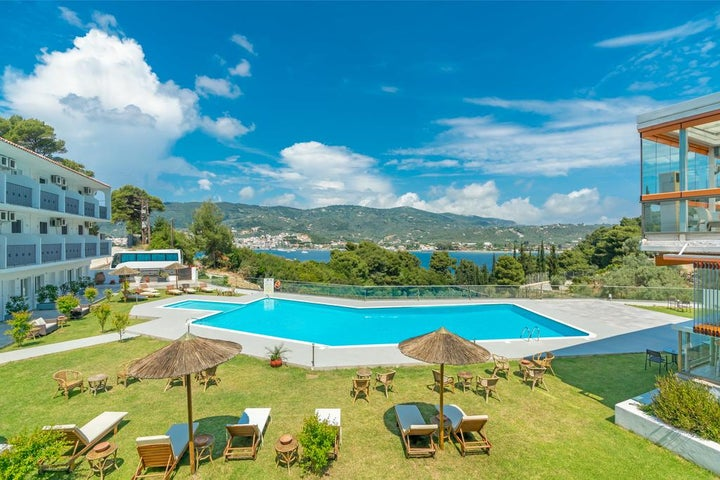 Punta Hotel in Skiathos Town, Skiathos, Greek Islands