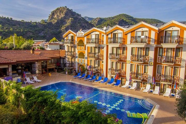 Magic Tulip Beach Hotel in Olu Deniz, Dalaman, Turkey