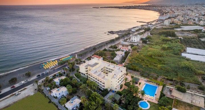 Tylissos Beach Hotel in Ierapetra, Crete, Greek Islands