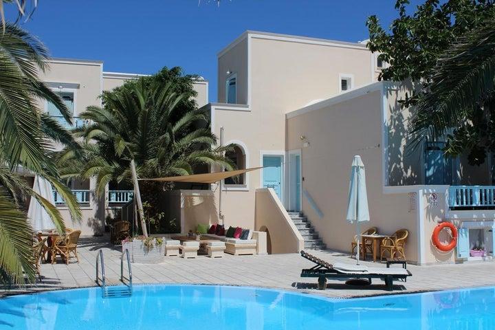 Strogili Hotel in Kamari, Santorini, Greek Islands
