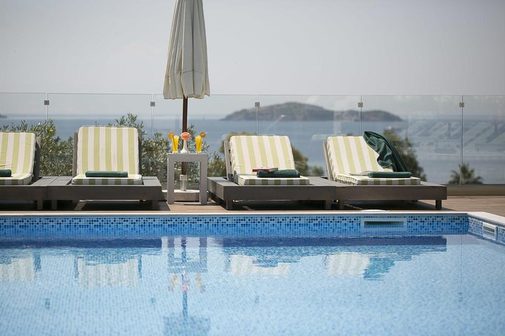 Irida Hotel in Megali Ammos, Skiathos, Greek Islands