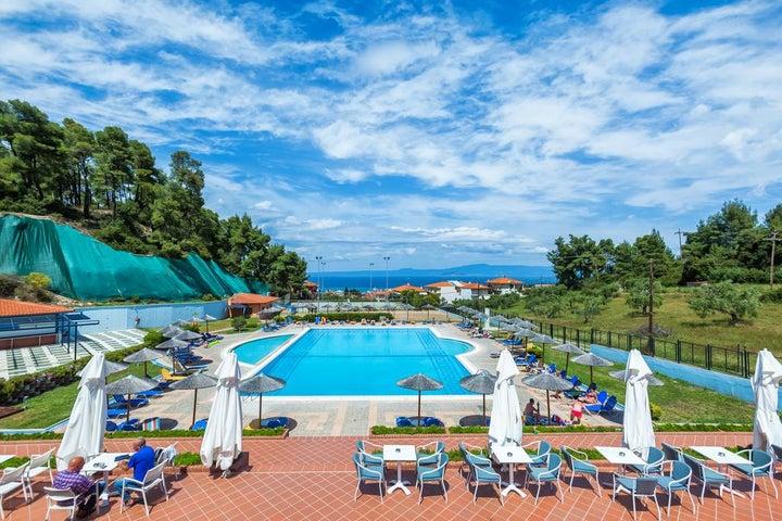 Atrium Hotel in Pefkohori, Halkidiki, Greece