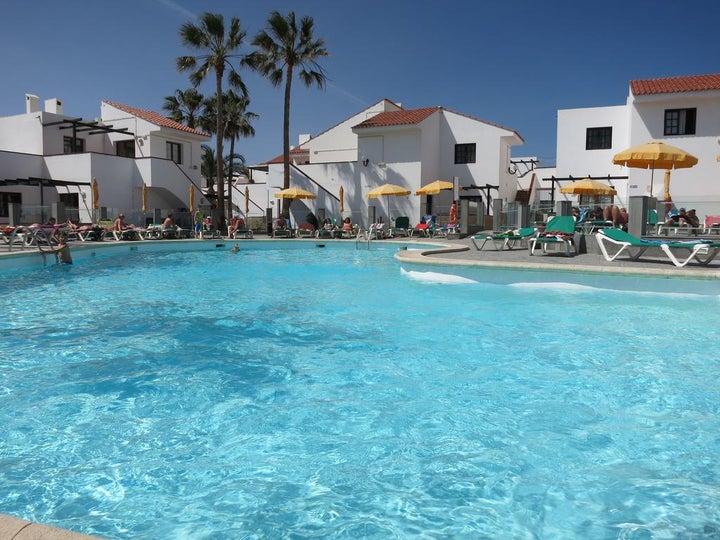 Villa Florida Apartments in Caleta de Fuste, Fuerteventura, Canary Islands