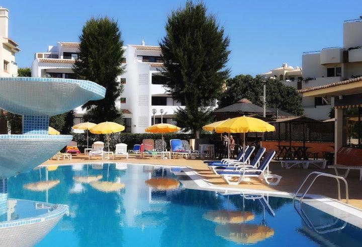 Oceanus Aparthotel in Albufeira, Algarve, Portugal