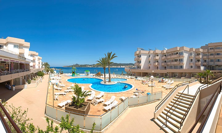 Playa Bella Apartments in San Antonio, Ibiza, Balearic Islands