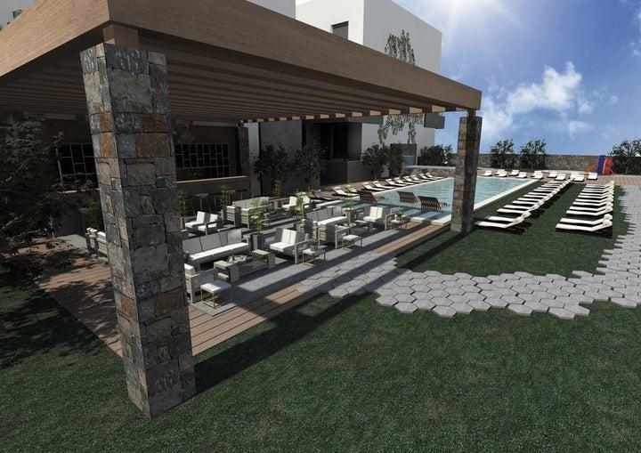The City Green Hotel in Hersonissos, Crete, Greek Islands