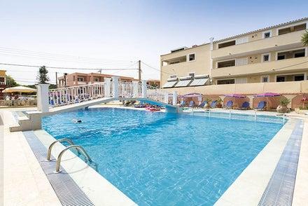 Olgas Apartments in Sidari, Corfu, Greek Islands