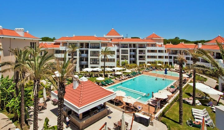As Cascatas Golf Resort and Spa in Vilamoura, Algarve, Portugal