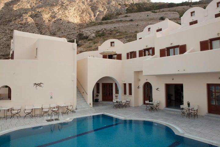 Epavlis Hotel in Kamari, Santorini, Greek Islands