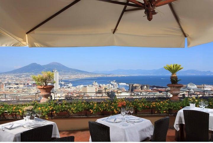 San Francesco Al Monte in Naples, Neapolitan Riviera, Italy