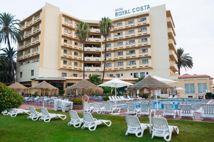 Royal Costa Hotel in Torremolinos, Costa del Sol, Spain