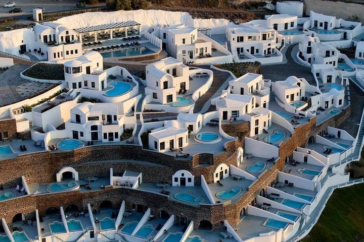 Ambassador Aegean Luxury Hotel and Suites in Akrotiri, Santorini, Greek Islands