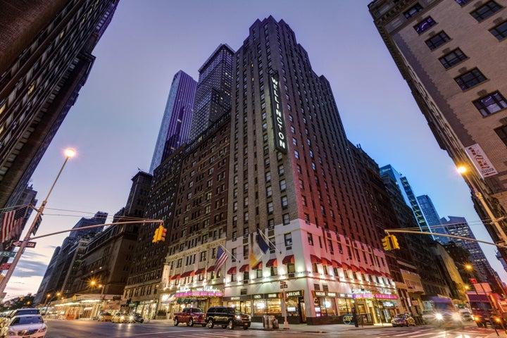 Wellington Hotel in New York, New York, USA