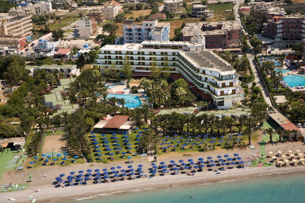 Blue Horizon Beach Resort In Ialyssos Rhodes Holidays From Pp Loveholidays