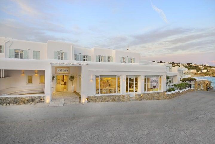 Petinos Hotel in Platis Yialos, Mykonos, Greek Islands