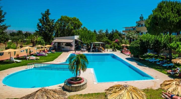 Achousa Hotel in Faliraki, Rhodes, Greek Islands