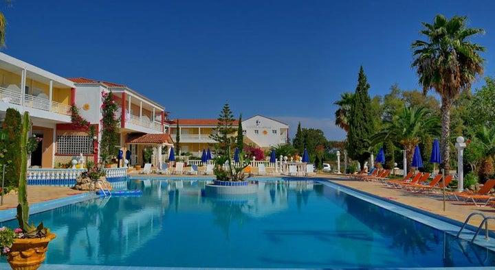 Ikaros Hotel in Laganas, Zante, Greek Islands