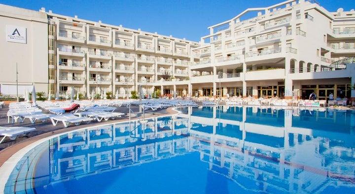 Aqua Hotel Aquamarina & Spa in Santa Susanna, Costa Brava, Spain