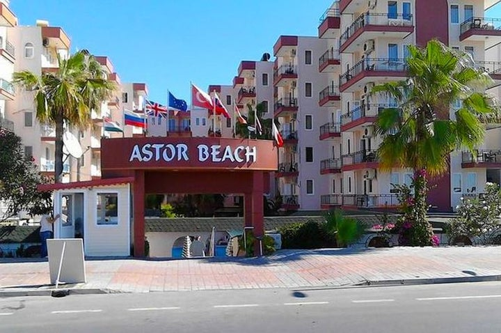 Astor Beach Hotel in Alanya, Antalya, Turkey