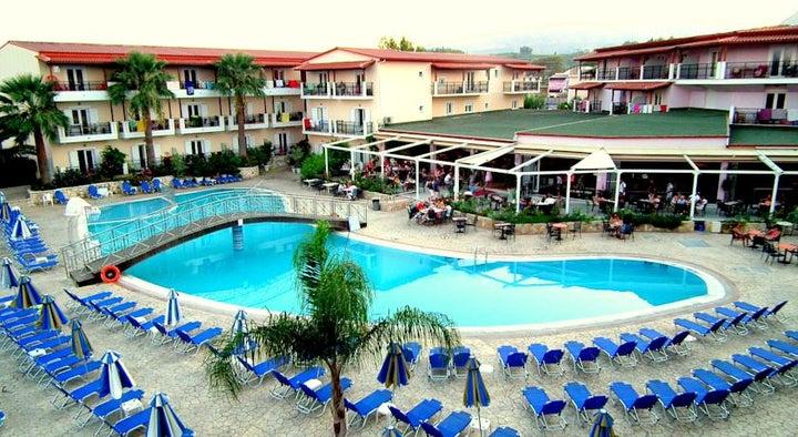 Majestic Spa Hotel in Laganas, Zante, Greek Islands
