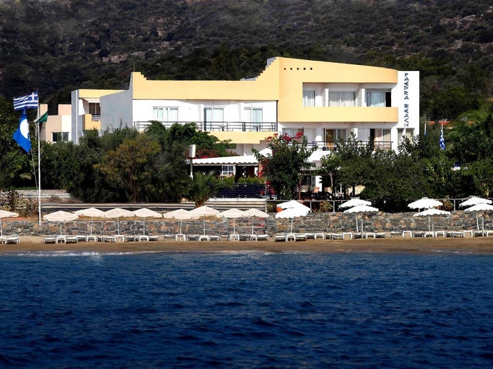Faedra Beach Resort in Aghios Nikolaos, Crete, Greek Islands