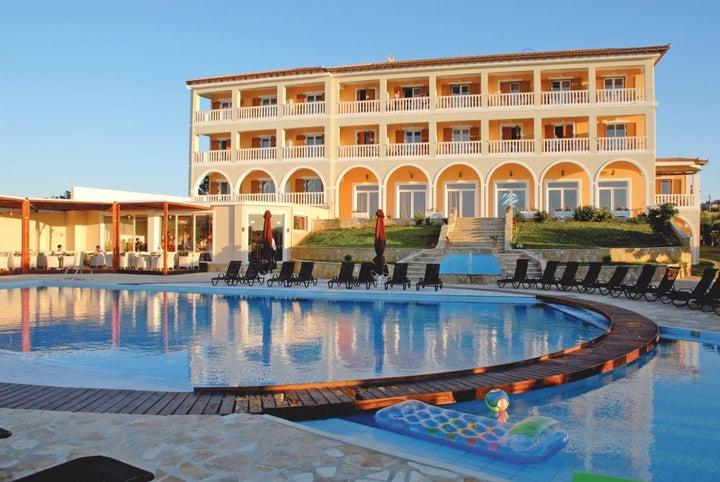 Tsamis Zante Hotel and Spa in Tragaki, Zante, Greek Islands