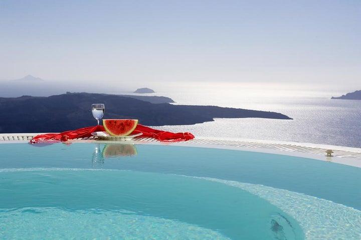 Dana Villas Hotel in Firostefani, Santorini, Greek Islands