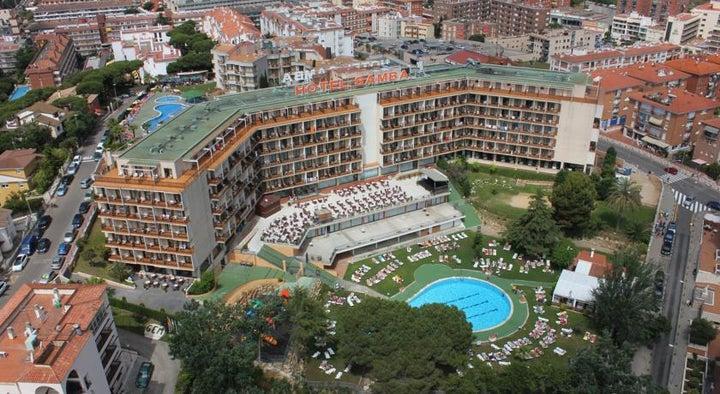 Samba Hotel in Lloret de Mar, Costa Brava, Spain