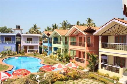 Maggies Guest House in North Goa, Goa, India