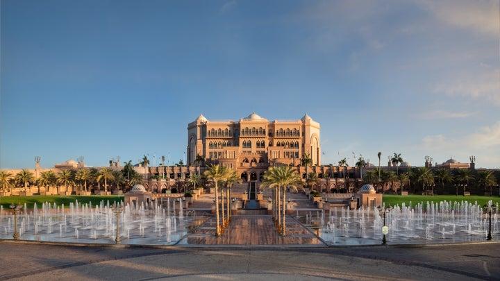 Emirates Palace Kempinski in Abu Dhabi, Abu Dhabi, United Arab Emirates