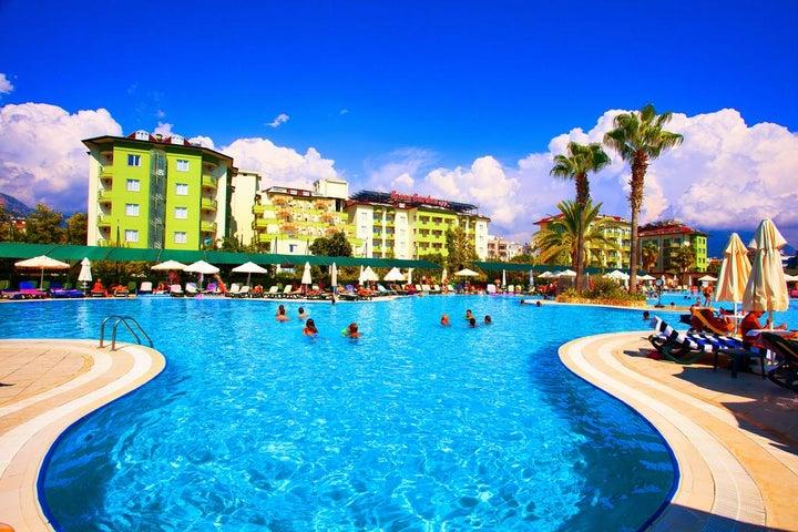 Green Garden Apartments and Suites Hotel in Alanya, Antalya, Turkey