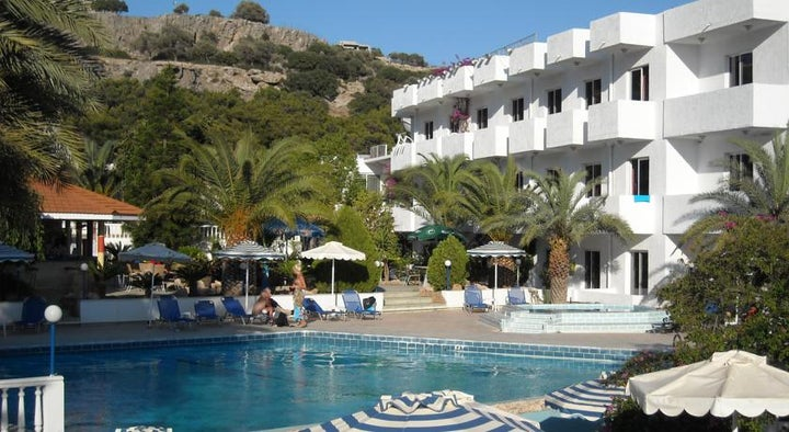 Thalia Hotel in Pefkos, Rhodes, Greek Islands