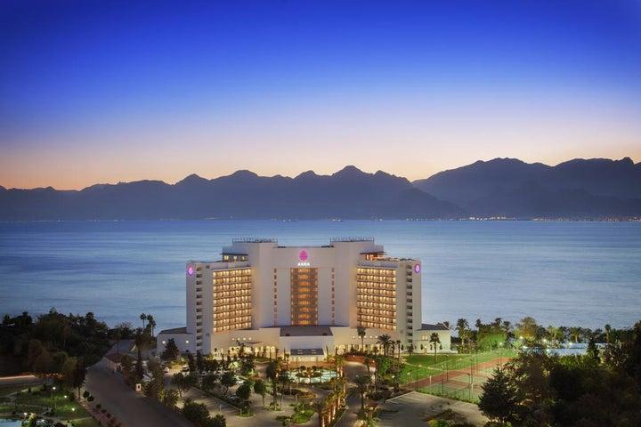 Akra Hotel in Antalya City, Antalya, Turkey