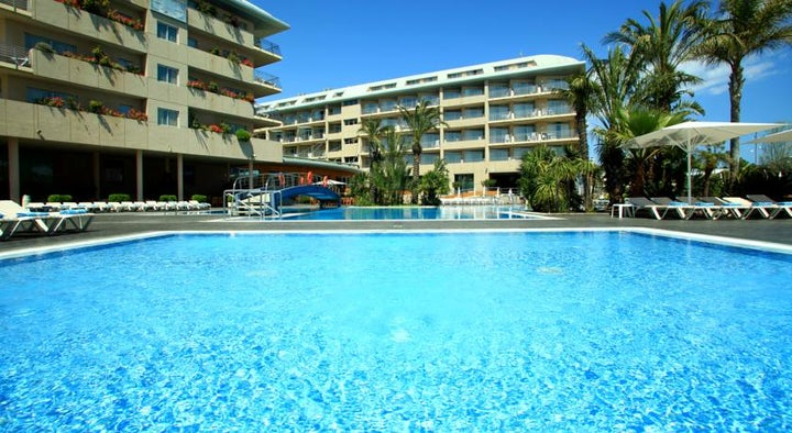 Aqua Hotel Onabrava & Spa in Santa Susanna, Costa Brava, Spain