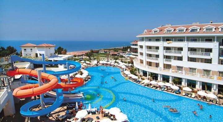 Alba Queen Hotel in Side, Antalya, Turkey