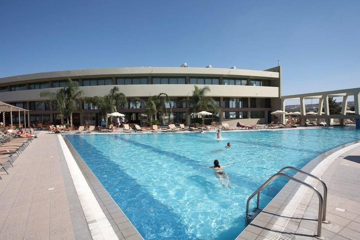 Virginia Hotel in Kalithea, Rhodes, Greek Islands