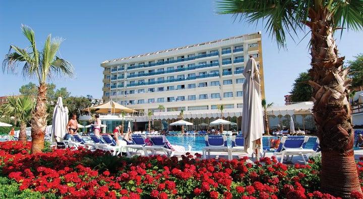 Lycus Beach in Alanya, Antalya, Turkey