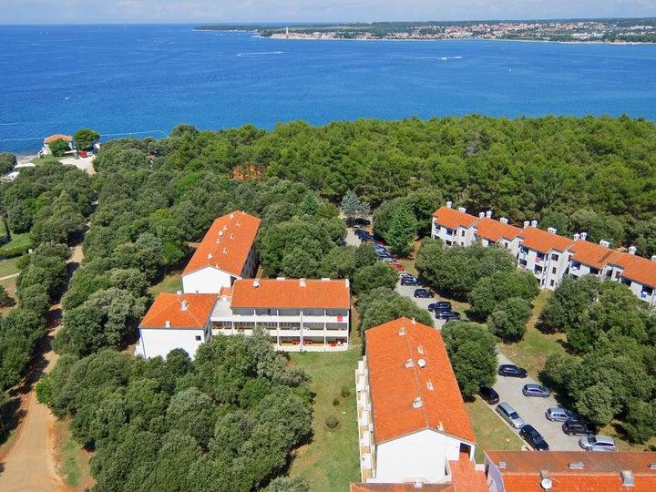Lanterna Apartments in Porec, Istrian Riviera, Croatia
