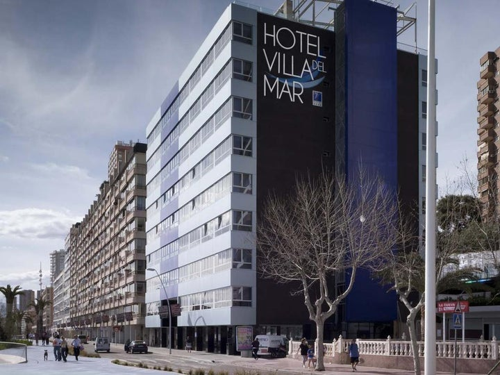 Villa Del Mar Hotel in Benidorm, Costa Blanca, Spain