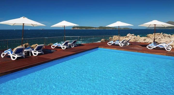 Ariston Hotel in Dubrovnik, Dubrovnik Riviera, Croatia