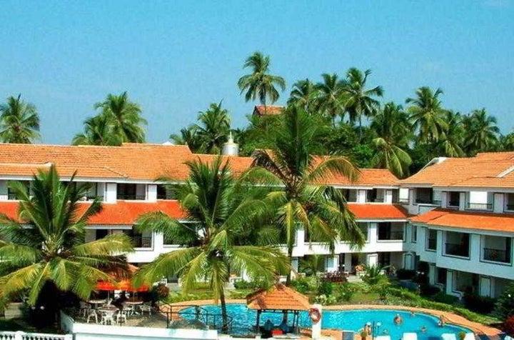 Resort Lagoa Azul in North Goa, Goa, India