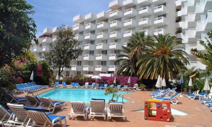 Ponderosa Apart Hotel in Playa de las Americas, Tenerife, Canary Islands