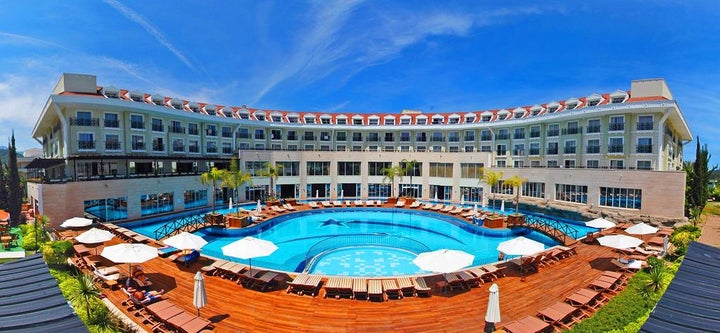Meder Resort Hotel in Kemer, Antalya, Turkey