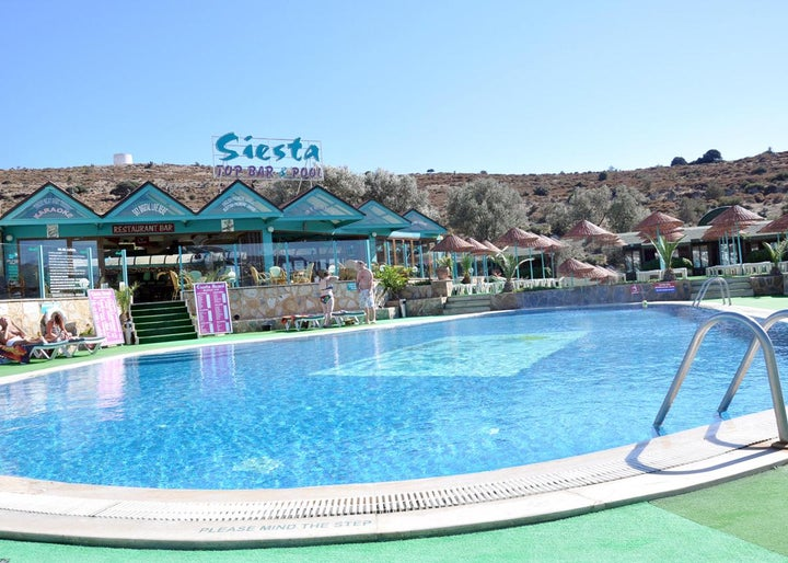 Siesta Beach Apartments in Gumbet, Aegean Coast, Turkey